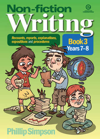 Non-fiction writing for years 7-8