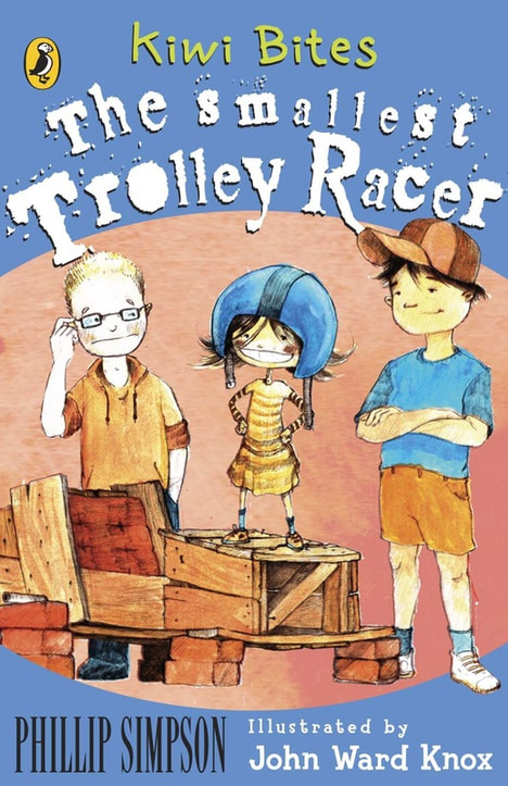 Kiwi Bites : The Smallest Trolley Racer by Phillip W. Simpson